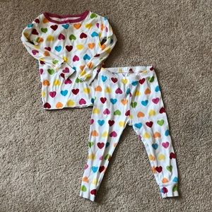 18M Heart ❤️ Pajamas